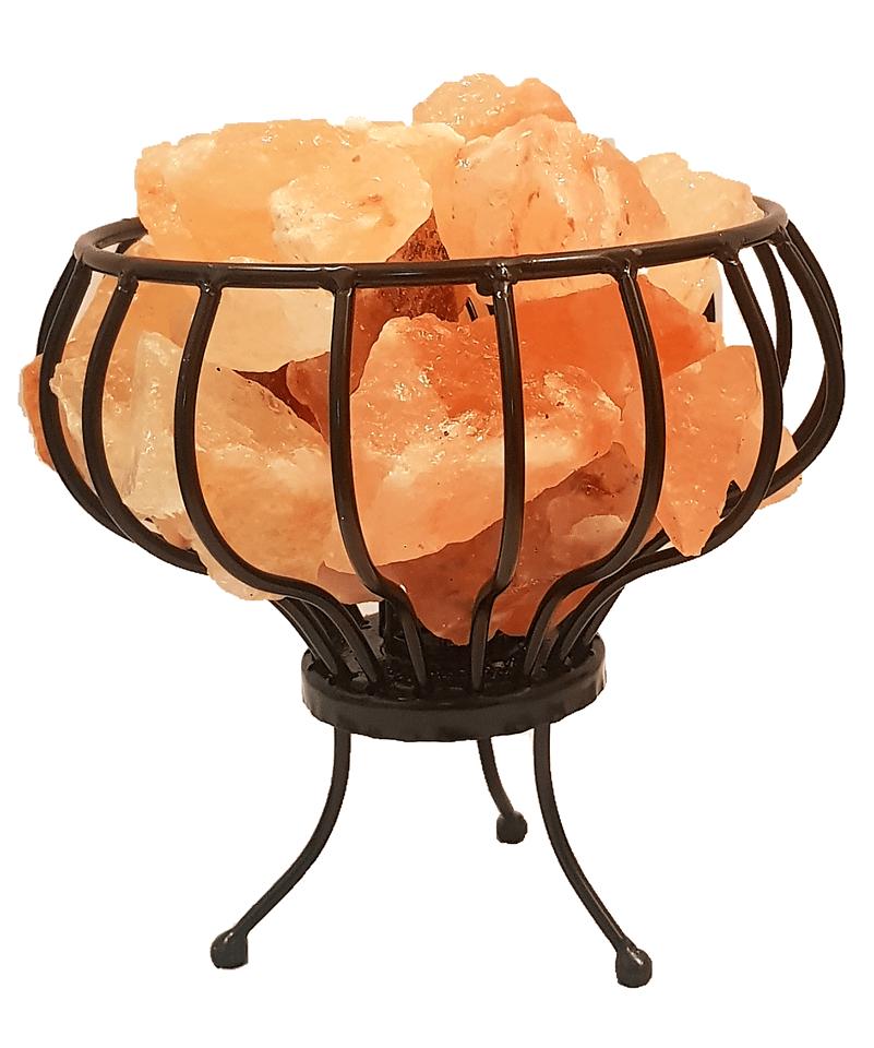 Iron Basket Himalayan Salt Lamp Himalayan Salt Products